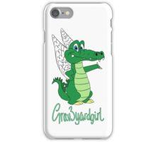 Grav3yardgirl Gator Design iPhone Case/Skin