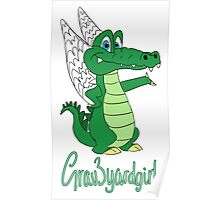 Grav3yardgirl Gator Design Poster