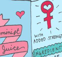 Feminist Juice Sticker