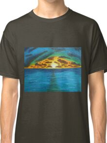 Sunset Over Troubled Waters Classic T-Shirt