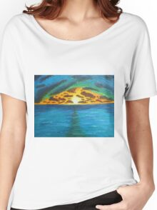Sunset Over Troubled Waters Women's Relaxed Fit T-Shirt