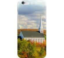 St Mary's Church, Mabou, Cape Breton iPhone Case/Skin