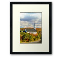 St Mary's Church, Mabou, Cape Breton Framed Print