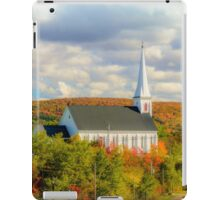 St Mary's Church, Mabou, Cape Breton iPad Case/Skin