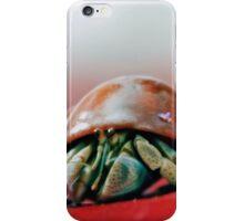 Red Hermit Crab iPhone Case/Skin