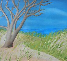 Tree of Solitude by vangrowart