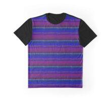 BLUE PURPLE FRACTAL QUILT  Graphic T-Shirt