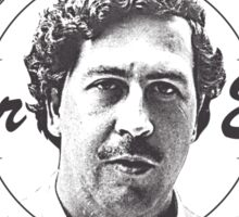Pablo Escobar logo Sticker