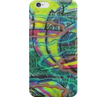 Neon Thoughts iPhone Case/Skin