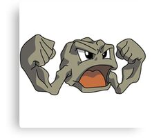 Geodude Pokemon Canvas Print