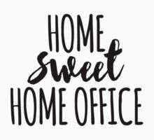 Home sweet home office One Piece - Short Sleeve