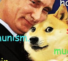 Putin doge Sticker