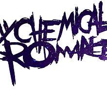 galaxy my chemical romance logo by Emily Grimaldi
