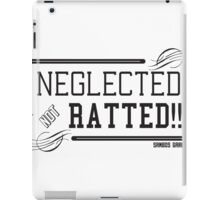 NEGLECTED LIFE iPad Case/Skin