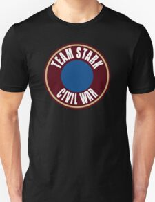 team stark civil war Unisex T-Shirt