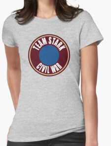 team stark civil war Womens Fitted T-Shirt