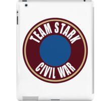 team stark civil war iPad Case/Skin
