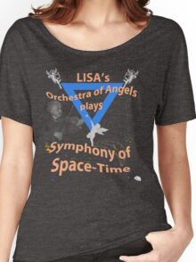 Space Time Symphony - Orange Women's Relaxed Fit T-Shirt