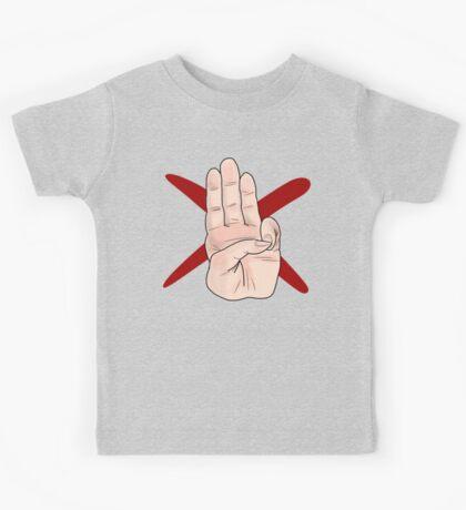 Three Finger Salute Kids Tee