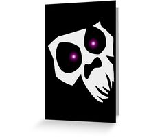 The Voodoo Skull Greeting Card