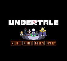 Undertale - Characters by Gabbo