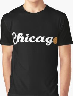 Chicago attached ball [WHITE] Graphic T-Shirt