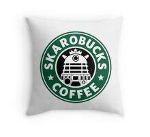 SKAROBUCKS COFFEE Throw Pillow