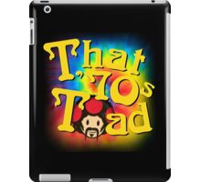 That 70s Toad iPad Case/Skin