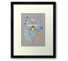 Key to other dimension Framed Print