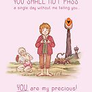 You shall not pass! by AliciaMB