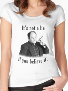 George Costanza Women's Fitted Scoop T-Shirt