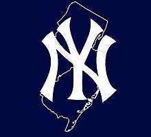 New york yankees- new jersey fan by American Artist