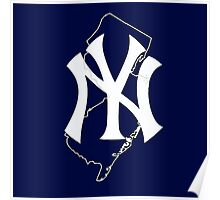 New york yankees- new jersey fan Poster