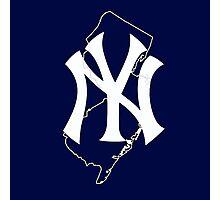 New york yankees- new jersey fan Photographic Print