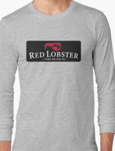 Red Lobster Beyonce Long Sleeve T-Shirt