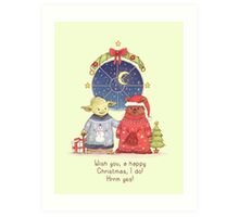 Hrm, Christmas Jumpers, yes! Art Print