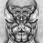 Mirrored Drawing. by Andy Nawroski
