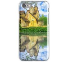 Queen Marie-Antoinette Hamlet Cottage Versailles Paris France iPhone Case/Skin