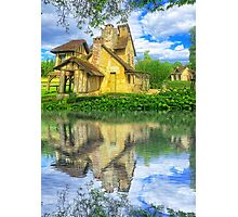 Queen Marie-Antoinette Hamlet Cottage Versailles Paris France Photographic Print