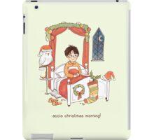 Accio Christmas Morning! iPad Case/Skin