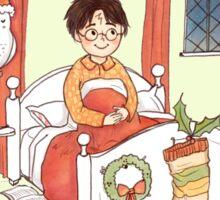 Accio Christmas Morning! Sticker