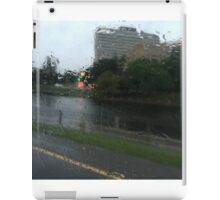 The World Through Rain iPad Case/Skin
