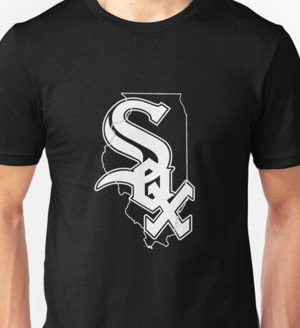 chicago white sox- Illinois state mash up  Unisex T-Shirt