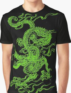 Jade Dragon Graphic T-Shirt