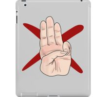 Three Finger Salute iPad Case/Skin
