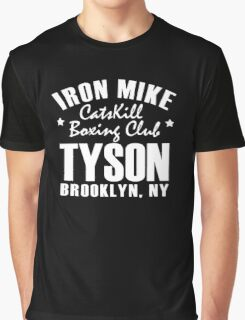 Iron Mike Tyson Catskill Boxing Club Graphic T-Shirt