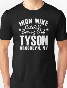 Iron Mike Tyson Catskill Boxing Club Unisex T-Shirt