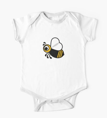 Bee graphic One Piece - Short Sleeve