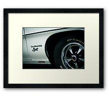 Pontiac Le MANS 350 Framed Print