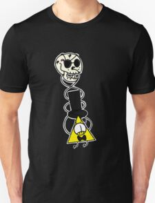 Bill Cipher and Skull T-Shirt